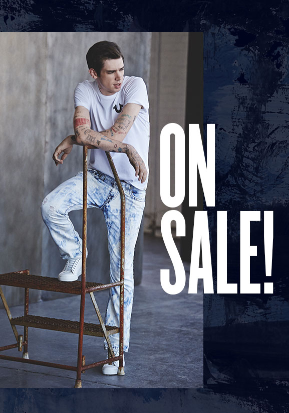 True Religion - Mens Sale Clothing - Jeans, Tops, Bottoms, Accessories